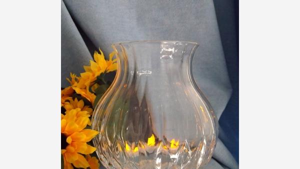 Cut-Crystal Urn-Shaped Vase - Free Shipping!