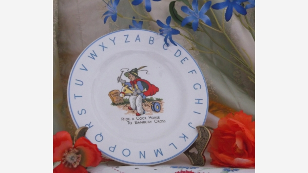 Fine-bone China Collectible Plate - Made in England - Free Shipping!