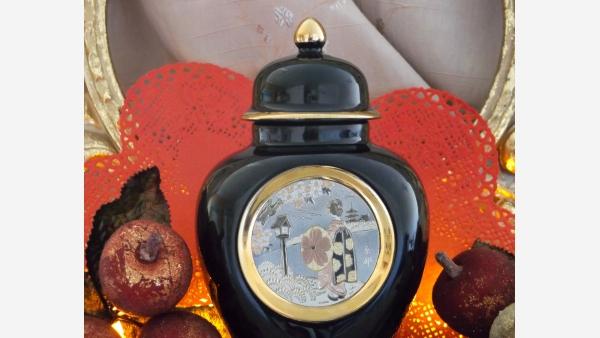 "home-treasures.com - ""Chokin"" Ginger Jar Collectible - A Fine Gift Choice!"