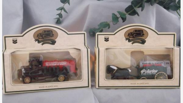 Replica Standard-Oil Miniatures in Original Packaging