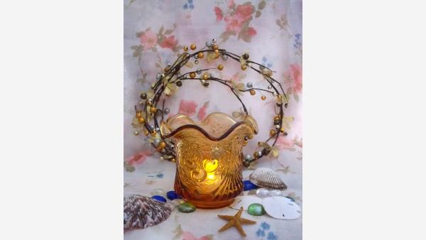 "home-treasures.com - ""Cherry Wreath"" Sugar Bowl - Free Shipping!"