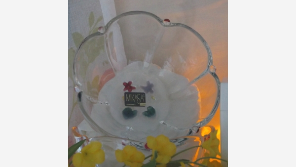 Mikasa Glass Dessert Bowls - Set of Four - Free Shipping!