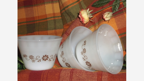 Classic Custard Cups - Set of Four
