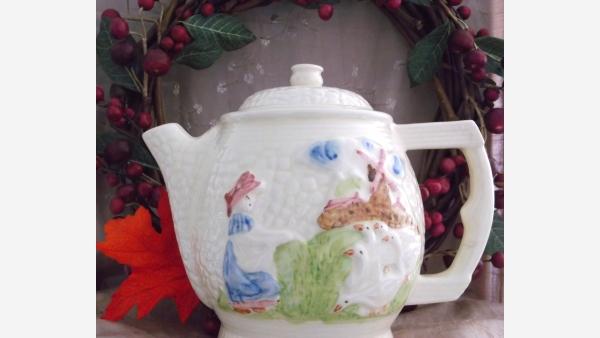 home-treasures.com - Vtg. Fraunfelter Teapot - Free Shipping!