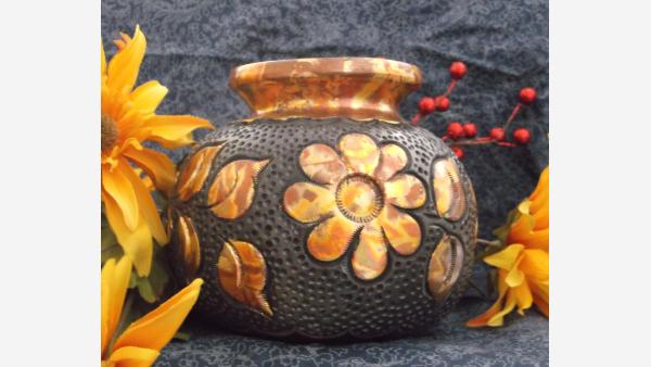 home-treasures.com - Oaxaca Ceramic Embossed Pottery