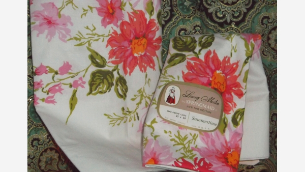 Vintage Pillowcases by SpringMaid - In New Condition - Free Shipping!