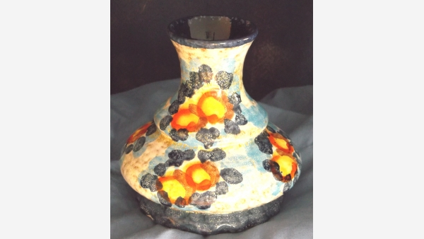 Vintage Glazed Pottery - Made in Germany