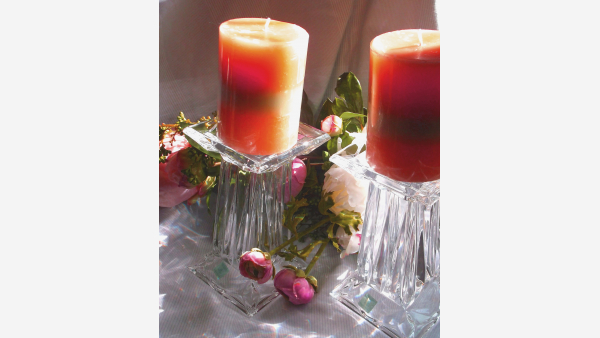 home-treasures.com - Pair of Crystal Candle Holders - Free Shipping!