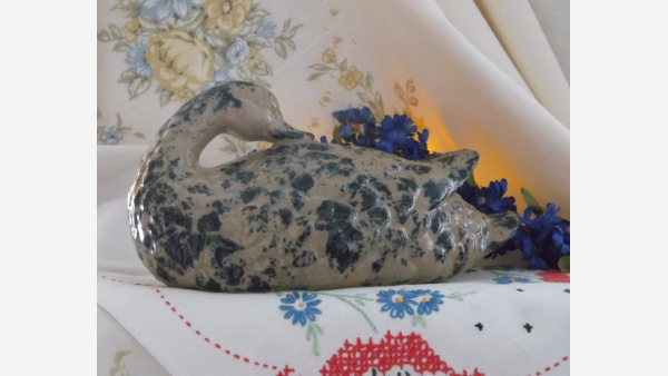 Cottage-Style Goose Figurine - Free Shipping!