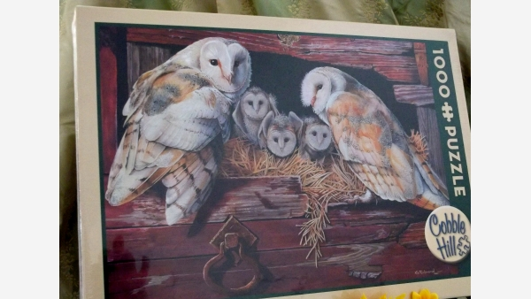 home-treasures.com - New Puzzle - Barn Owls - Free Shipping!