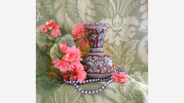 home-treasures.com - Italian Hand-painted Vase - Free Shipping!