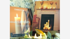 Handmade Candles and Illuminations - Fine Hardcovers - Free Shipping!