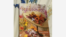 Book - A Passion for Ribbonry - Quality Flexible-Cover