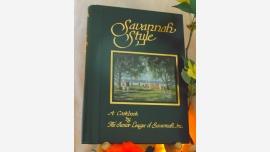 "Cookbook: ""Savannah Style - Junior League"" - Free Shipping!"