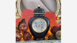 "home-treasures.com - ""Chokin"" Ginger Jar Collectible - A Fine Gift Choice!"