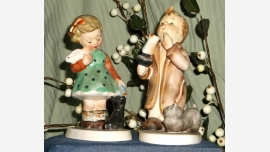 Hummel-like Figurines by Napco - Vintage