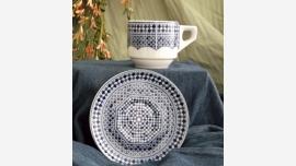 Espresso Cup/Saucer - Morocco
