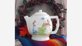 home-treasures.com - Vtg. Fraunfelter Teapot - Free Shipping!