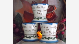 home-treasures.com - English Torquay Ware - Set of 3 - Free Shipping!