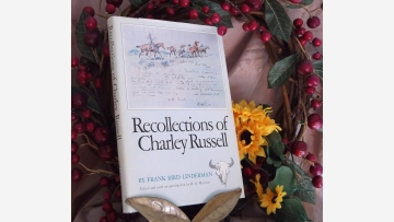 """Western Americana: """"Recollections of Charley Russell"""" - Free Shipping!"""