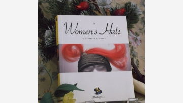"""Women's Hats"" Book - Gift-Quality - Free Shipping!"