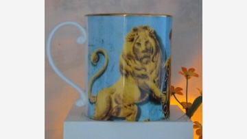 Gift-Quality Coffee Mugs - (Fine-Bone-China) - Sold as Set of Three - Free Shipping!