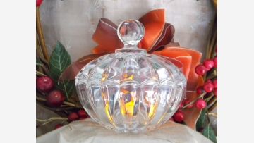 Nachtmann Lead-Crystal Candy Bowl - Made in Germany - Free Shipping!