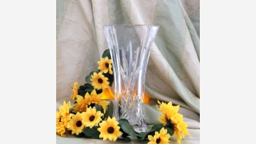 """Waterford Crystal Vase - """"Florence Court Collection"""" - Free Shipping!"""