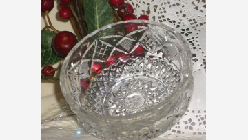 Crystal Serving Bowls - Each One Unique - Free Shipping!