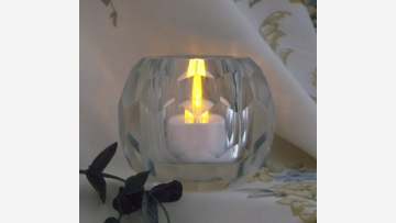 Multi-Faceted Votive - Weighty and Elegant - Free Shipping!