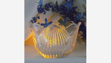 Crystal Candy Bowl - Handsome Piece by Mikasa - Free Shipping!