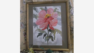 Floral Watercolor - Handsomely Framed - Free Shipping!