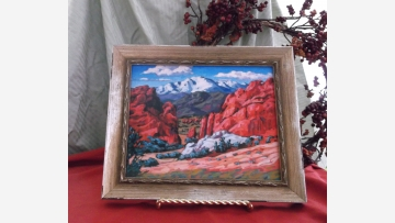 Colorado Red-Rocks Formation - Fine Giclee Print - Free Shipping!