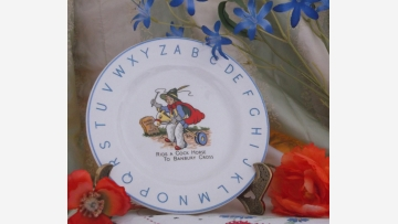 Lord Nelson Pottery Collectible Plate - Storybook Theme - Free Shipping!