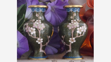 Cloisonné Vases - Exquisite Small Size - Free Shipping!