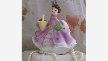 "Delightful ""September"" Birthday Figurine - Free Shipping!"