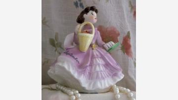 "Delightful ""September"" Birthday Figurine - Free Shipping!"