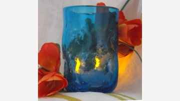 """Rare """"Crackled"""" Tumblers - Great Style! - Free Shipping!"""