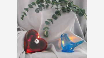 Glass Figurines - Vintage Collectibles in Rich Colors - Free Shipping!