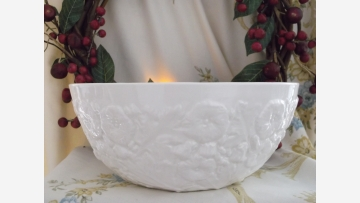 """Spode Compote - Embossed """"Imperial Fancies"""" - Free Shipping!"""