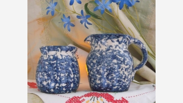 Texas-Made Crockery - Creamer-and-Sugar - Free Shipping!
