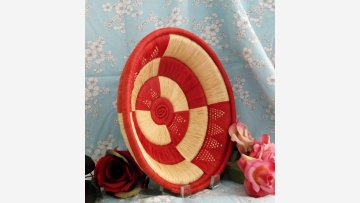 African Woven Basket - Exquisite Craftsmanship - Free Shipping!