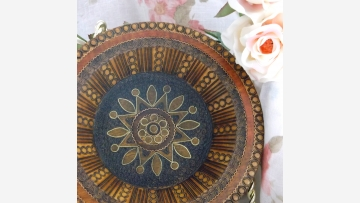 Artistry from Poland - Dish and Jewelry Box - Free Shipping!