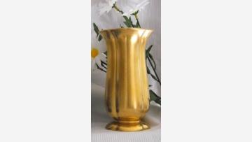 Vtg. Gold-Washed Vase - A Lovely Find! - Free Shipping!