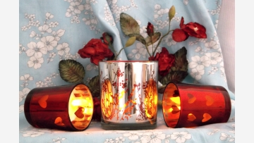 Richly Colored Votives - Free Shipping!